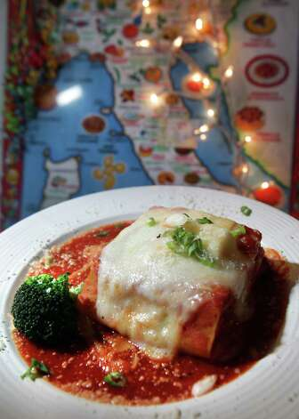 The Lasagna from Tolentino's Italian Kitchen, April 25, 2012.  Bob Owen Photo: Bob Owen, San Antonio Express-News / © 2012 San Antonio Express-News