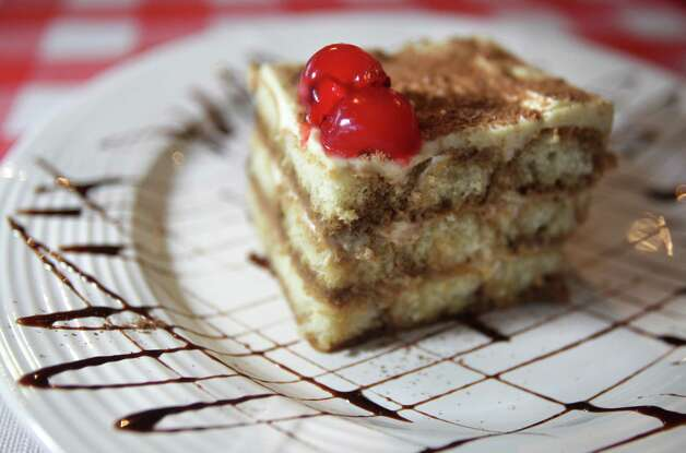 The Tiramisu at Tolentino's Italian Kitchen, April 25, 2012.  Bob Owen Photo: Bob Owen, San Antonio Express-News / © 2012 San Antonio Express-News