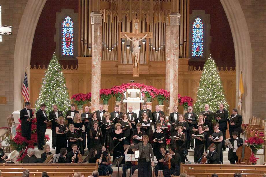 The Connecticut Chamber Choir is shown in concert from earlier this year. The group closes its season on Sunday, May 6. Photo: Contributed Photo / Connecticut Post Contributed