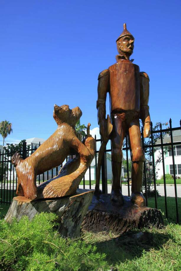 Take the Galveston Tree Sculpture TourDozens of tree Sculptures created from trees ruined by Hurricane Ike can be seen through some of Galveston's historic neighborhoods. Download a brochure to take the tour yourself here. / DirectToArchive