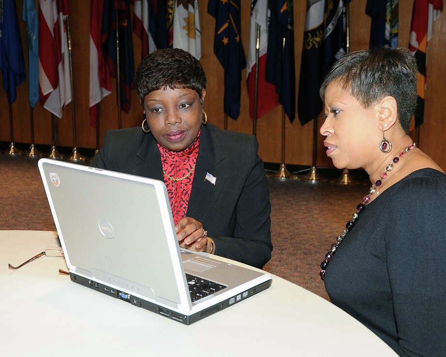 Madeline Ann Lewis approaches social media with a client the way an employer might. Lewis, of Capitol Heights, Md., is a career strategist at Deline Institute for Professional Development. Photo: Contributed Photo / Stamford Advocate Contributed