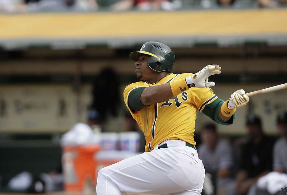 Yoenis Céspedes Photo: Lea Suzuki, The Chronicle