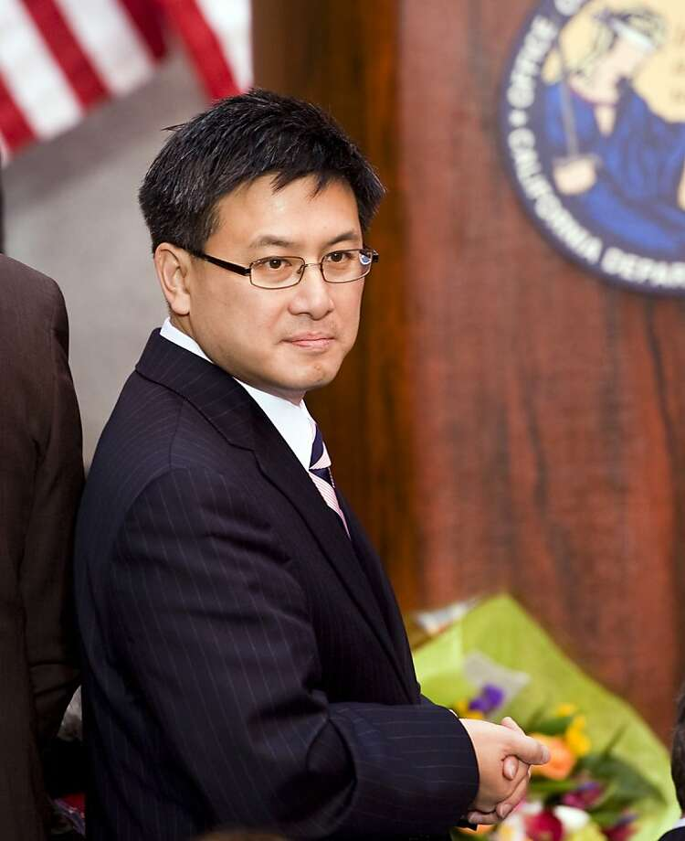 California State Controller John Chiang attends the inauguration of Attorney General Kamala Harris at the California Museum for History, Women and the Arts on January 3, 2011 in Sacramento, California. (Paul Kitagaki Jr./Sacramento Bee/MCT) Photo: Paul Kitagaki Jr., MCT