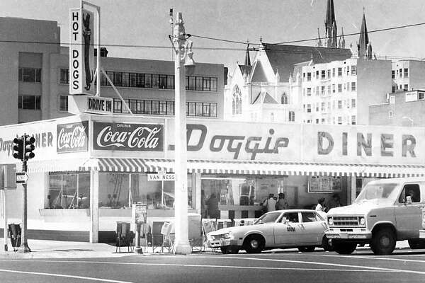 The Doggie Diner on Van Ness Ave. Photographed Sept. 4, 1978.
