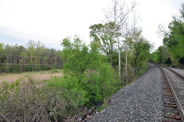 Undeveloped land east of Old River Road in Bethlehem Wednesday April 25, 2012. (John Carl D'Annibale / Times Union)
