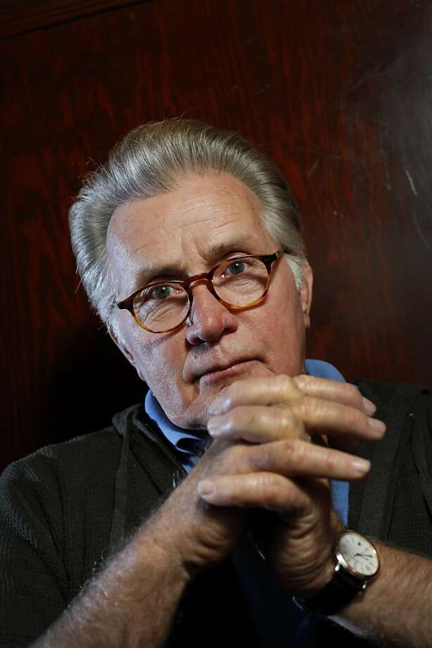 "Martin Sheen stars in the drama ""The Way,"" directed by his son Emilio Estevez, about a father who loses his grown son and goes on a walking pilgrimage in Spain.  He is photographed at Tosca Cafe in San Francisco, Calif., Sunday, August 28, 2011. Photo: Sarah Rice, Special To The Chronicle"