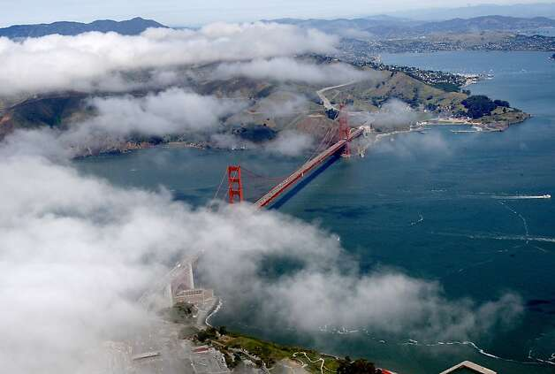 San Francisco is among the cleanest counties, without a single day that exceeded federal ozone pollution standards in 2011. Photo: Brant Ward, The Chronicle