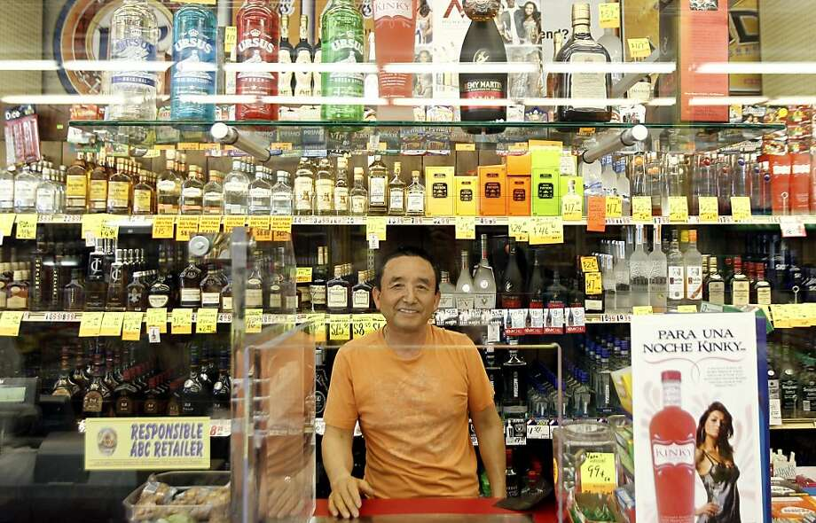 On Friday, April 20, 2012, James Oh, the current owner of Tom's Liquor on the corner of Florence and Normandie in South Los Angeles, considered Ground Zero of the 1992 riots, poses for a portrait in the store. Twenty years since the 1992 LA riots residents of the city's largely black and Hispanic South Side complain that the area still is plagued by too few jobs, too few grocery stores and a lack of redevelopment that would bring more life to the area. Photo: Matt Sayles, Associated Press
