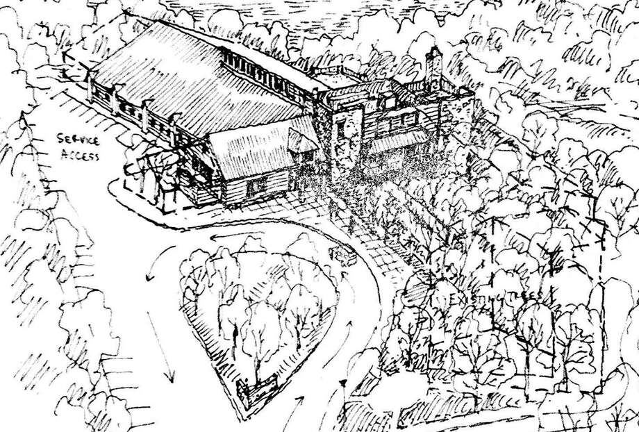 A sketch of the new complex that the Westport Weston Family Y hopes to build on its Mahackeno property. Photo: Contributed Photo / Westport News contributed