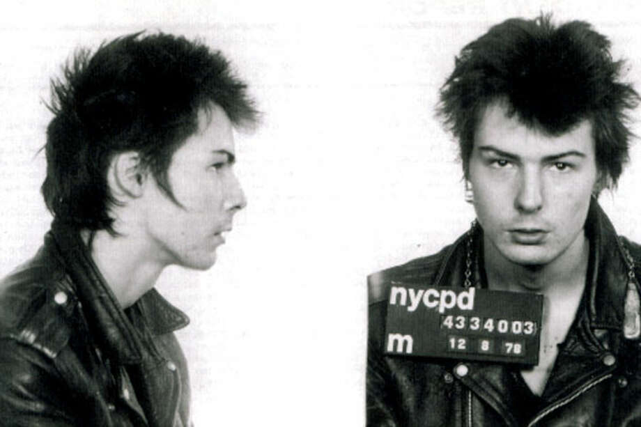 Sid Vicious (1978): Arrested for the murder of girlfriend Nancy Spungen in New York.