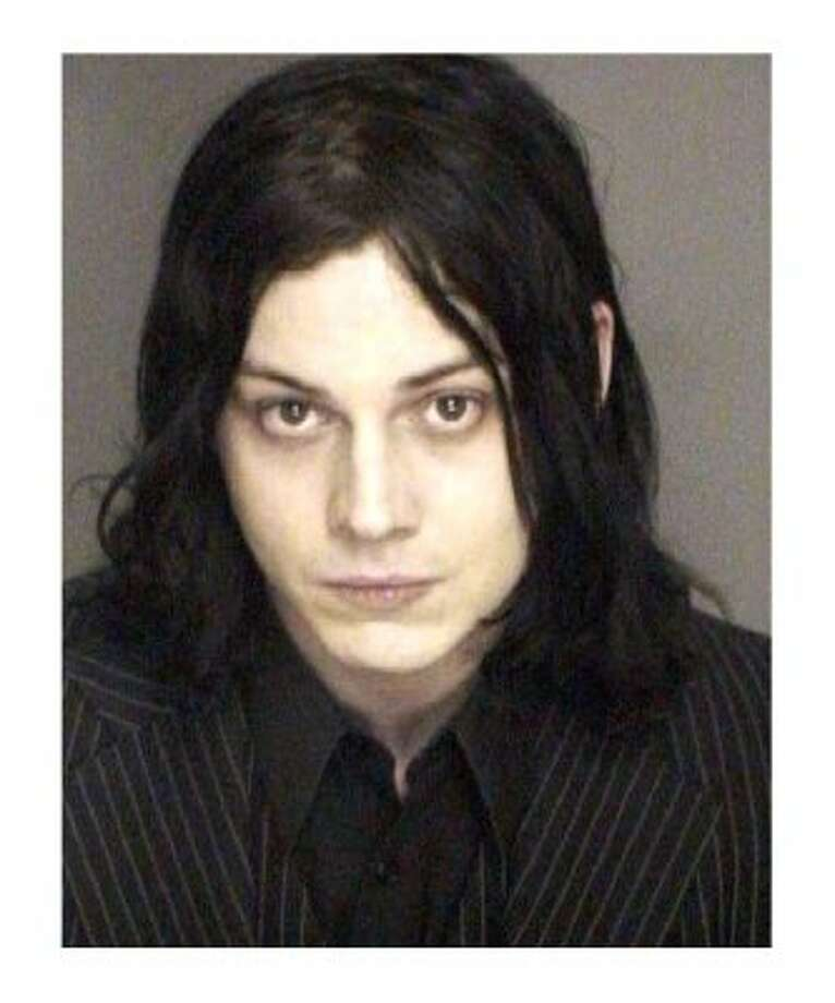 Jack White (2003): Even after allegedly delivering a beat down to a singer of a rival band, the White Stripes front man adhered to his strict color code.
