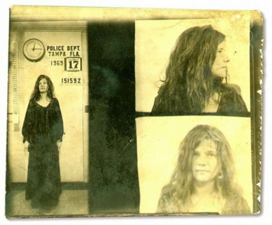 Janis Joplin (1969): Arrested for yelling at police officers in Florida who didn't realize that was just her normal speaking voice.