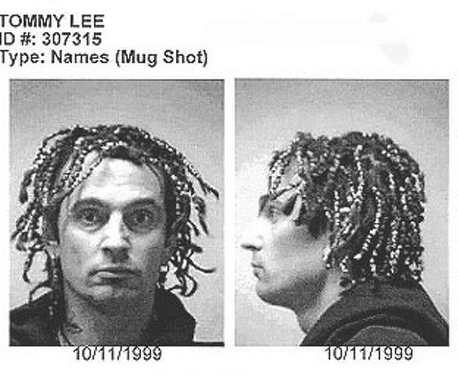 Tommy Lee of Motley Crue (1999): Charged with inciting a riot. It was most likely the hair.