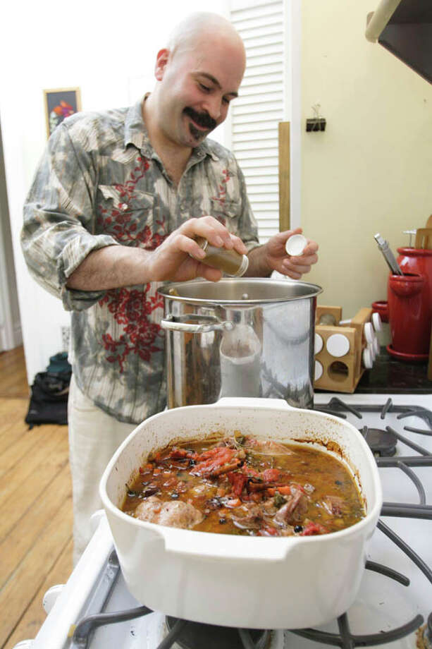 Growing up in the atmosphere of diners owned by family members, Dimitiros Menagias took the plunge into the restaurant business in his mid-20s, making his mark on various Capital Region establishments before landing as executive chef at The City Beer Hall in Albany. Read the story here and see his recipes here. Photo: Suzanne Kawola/Life@Home