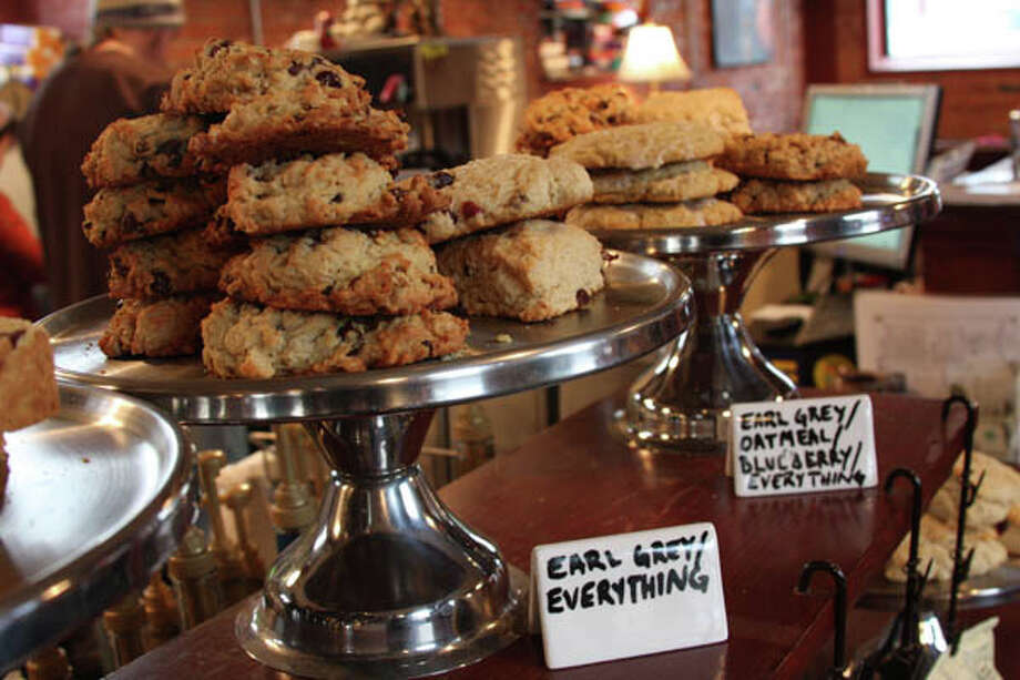 As a small independent baker, Linda Kindlon of Bake For You works in the large kitchen of a church overlooking Washington Park to create a variety of delectable items. Her best-selling chunky cookies are affectionately named for Albany landmarks and streets. Read her story  here. Photo: Paul Barrett/Life@Home