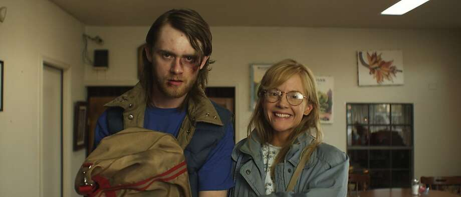 Rachel Harris and Matt O'Leary in NATURAL SELECTION Photo: Cinema Guild