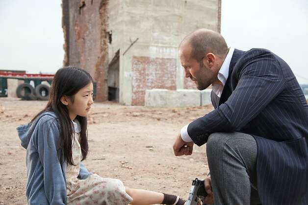 Mei (Catherine Chan) and Luke Wright (Jason Statham) in SAFE. Photo:  John Baer, Lionsgate