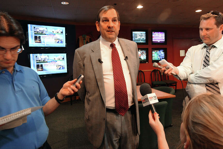 Retama Park CEO Bryan Brown expects a decision on the track's sale by late November or December. Photo: Kin Man Hui, San Antonio Express-News / ©2012 San Antonio Express-News