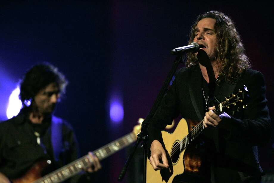 The Mexican band Mana performs during the 2006 MTV Latin Video Music Awards at the Palacio de los Deportes in Mexico City on Thursday Oct. 19, 2006. Photo: GUILLERMO ARIAS, AP / AP