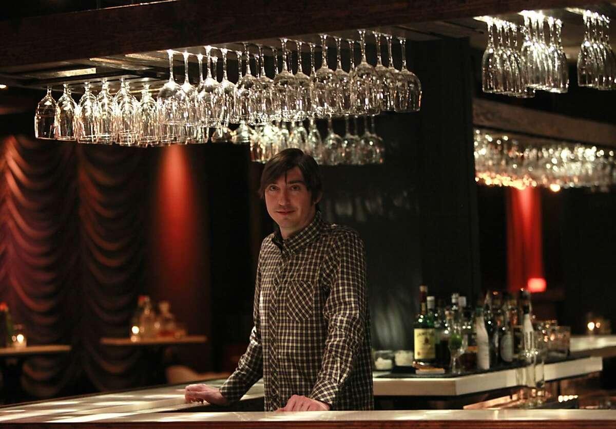 Doug Dalton, owner of the new Local Edition bar, in San Francisco, California on Friday, April 13, 2012.