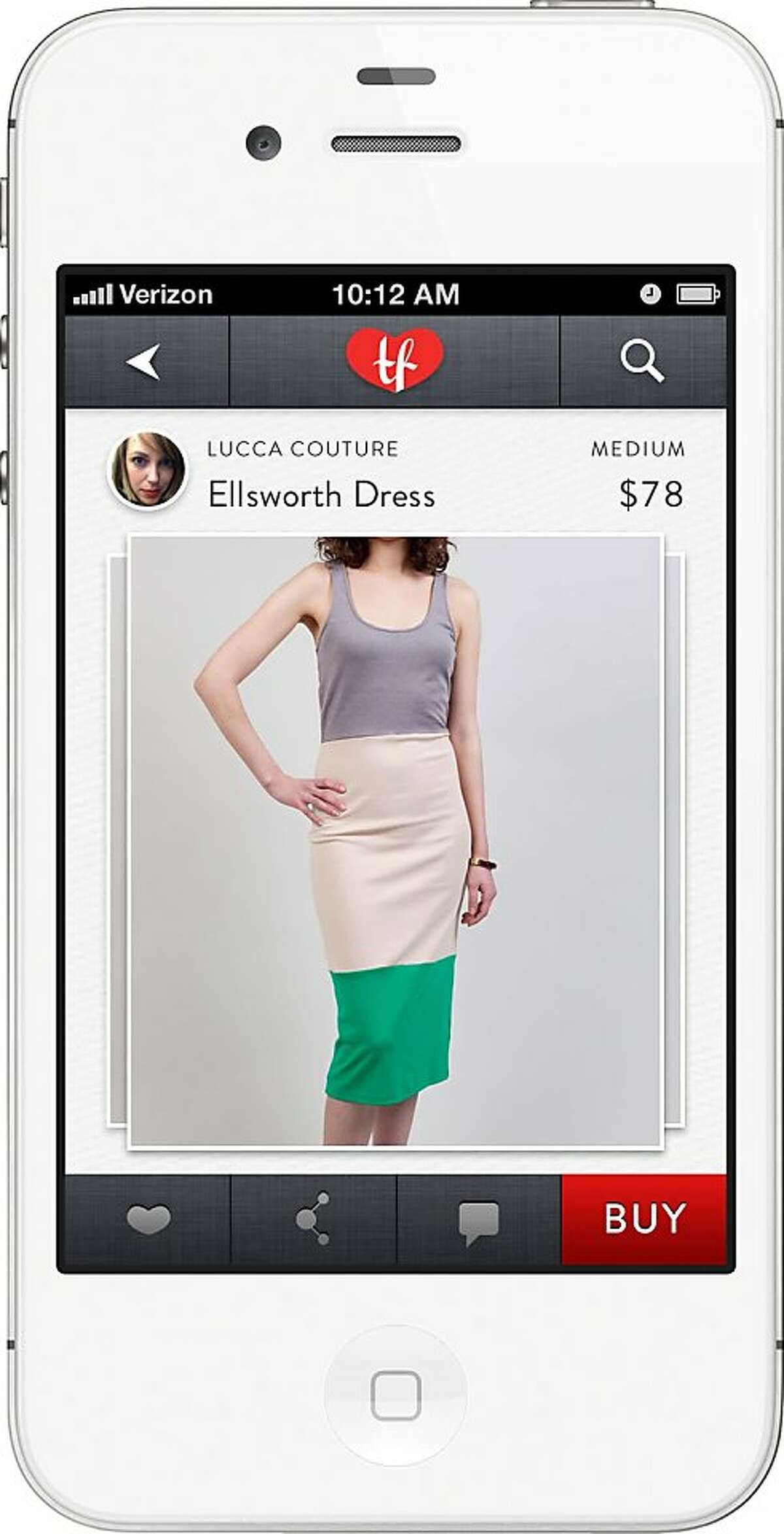 San Francisco's Threadflip is a new mobile app that helps people list their clothes and accessories for sale, like eBay.