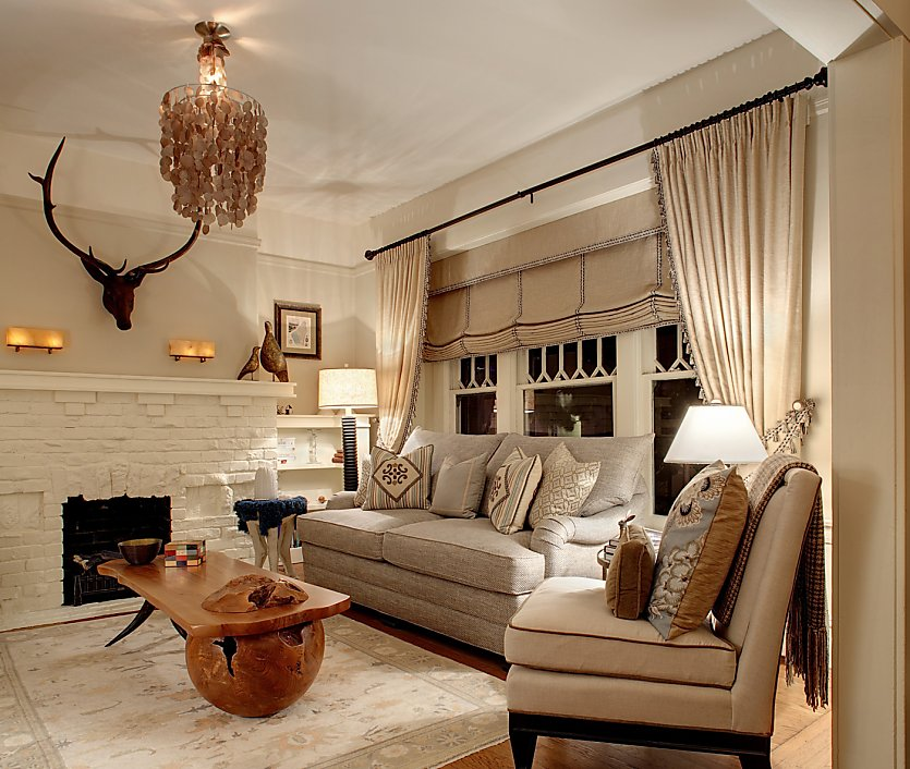 Eclectic Cottage Living Room: Eclectic English Cottage