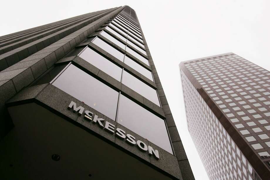 McKesson settled allegations that it defrauded Medicaid by reporting inflated prices of drugs.     ** FILE ** An exterior view of prescription drug distributor McKesson Corp. headquarters is shown in a San Francisco file photo from May 3, 2006.  McKesson Corp. is expected to release their earnings after the closing bell. (AP Photo/Paul Sakuma, File) Ran on: 07-28-2006 McKesson Corp. profited from new contracts and sales of generic drugs and computerized health care prescription systems. Ran on: 07-28-2006 --- Sent 04/26/12 15:24:50 as sector27_mckessonph with caption: Photo: Paul Sakuma, AP