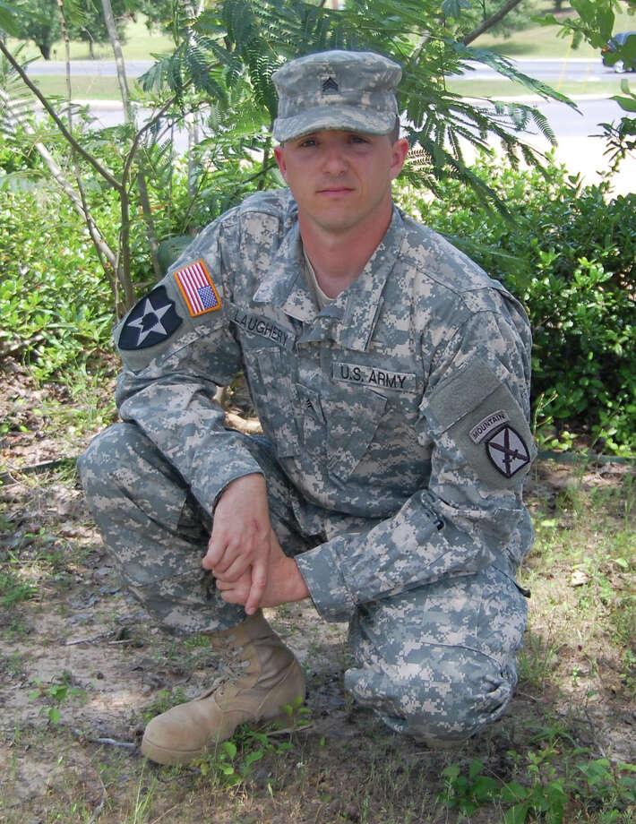 Twenty seven year-old Sgt. M. Joshua Rayn Laughery   (US Army Photo by  Chuck Cannon)