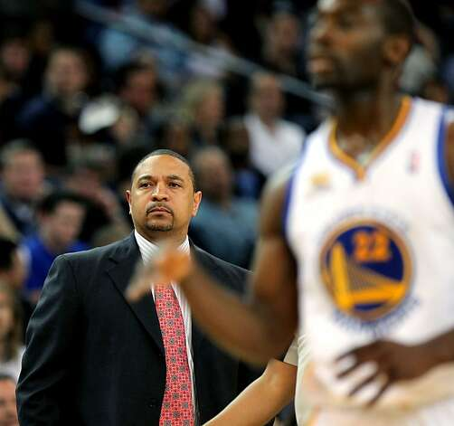 Golden State Warriors' head coach Mark Jackson looks on from the sidelines during the 1st period of their game with the San Antonio Spurs Thursday, April 26, 2012, in Oakland, Calif. Photo: Lance Iversen, The Chronicle