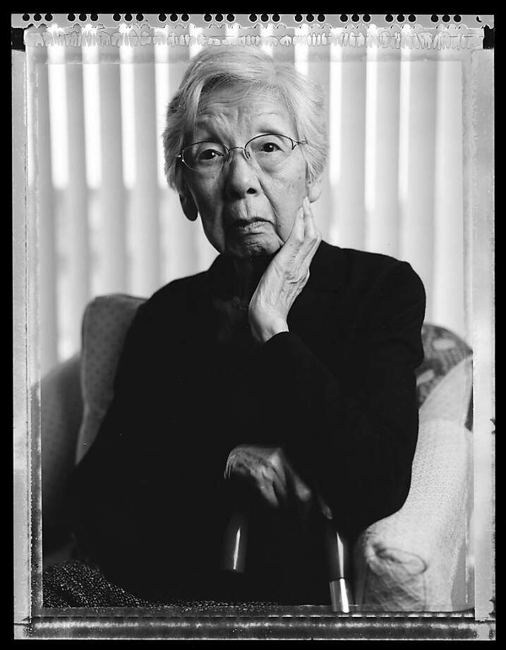 Lillian Matsumoto, 95, photographed in 2006, and her husband Harry, convinced the government that there was a need for a home to house Japanese evacuee orphans. The couple gathered children from the Shonien home in Los Angles, the Maryknoll Catholic Home for Japanese Children and the Japanese Salvation Army home in San Francisco, then established the Children's Village for orphaned children in the Manzanar Internment Camp during WWII. The village held 105 children from the ages of three months to 17 years. In 1944, they adopted Karly Matsumoto, a three-month-old orphan from the Tule Lake Internment camp. She is a South San Francisco city council member.  © Paul Kitagaki Jr. 2012 Photo: Paul Kitagaki Jr.