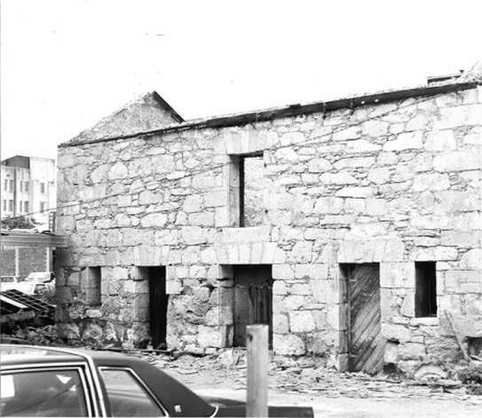 In 1982, the Stuemke Barn was moved from 215 N. Flores St. to 107 King William after the Conservation Society acquired the building. Photo: Courtesy Of The San Antonio Conservation Society