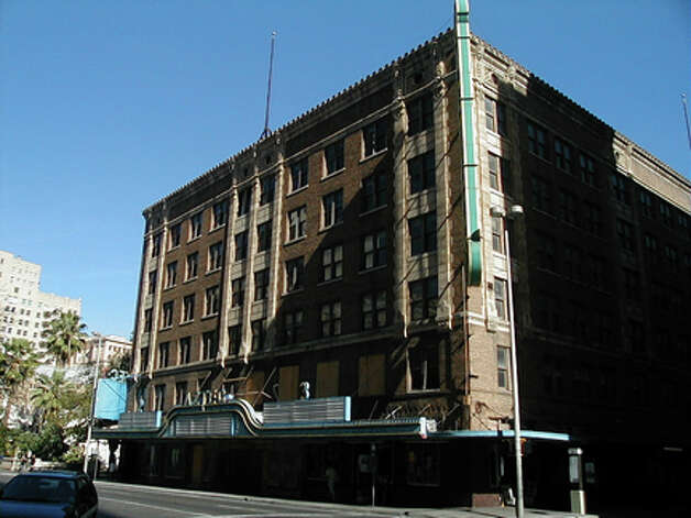 The Conservation Society purchased the Aztec Theater (built in 1926) in 1988. (COURTESY OF SAN ANTONIO CONSERVATION SOCIETY)