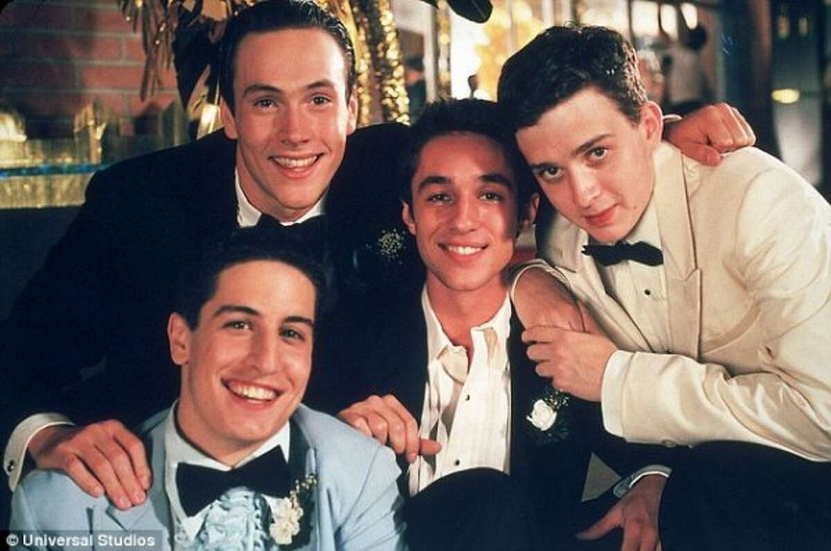 American Pie (1999)   American Pie 2 (2001) Leaving Netflix April 1Four teenage boys enter a pact to lose their virginity by prom night.(© Universal Studios)