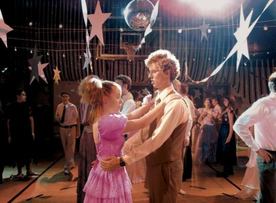 """I see you're drinking 1%. Is that 'cause you think you're fat? 'Cause you're not. You could be drinking whole if you wanted to.""— Napoleon Dynamite, referring to Deb's milk in ""Napoleon Dynamite.""PHOTO: Napoleon (Jon Heder) and Deb (Tina Majorino) dance at the prom in ""Napoleon Dynamite."""