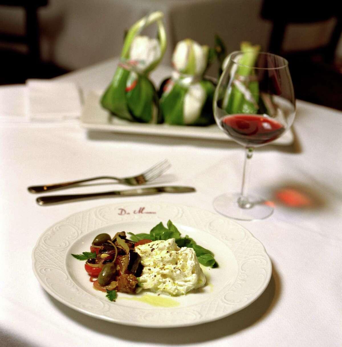 Da Marco Cuisine: Italian Dish: Burrata Entree price: $$$ Where: 1520 Westheimer Phone: 713-807-8857 Website: damarcohouston.com