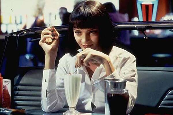 "Pulp Fiction: (thanks  shootyarms: ""the movie that changed everything."""