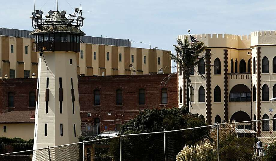 Eastern side of San Quentin State Prison. Photo: Michael Macor, The Chronicle