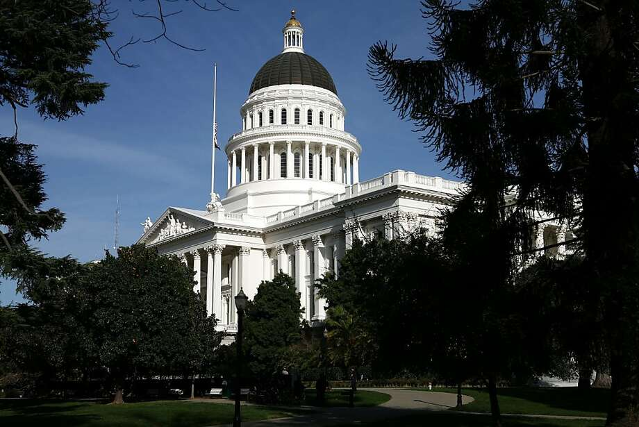 SACRAMENTO, CA - FEBRUARY 19:  A view of the California State Capitol February 19, 2009 in Sacramento, California. After days of wrangling, the California State Senate secured the necessary two-thirds majority to pass a $41 billion budget after Sen. Abel Maldonado (R-Santa Maria) broke party lines and voted for the budget.  (Photo by Justin Sullivan/Getty Images) Photo: Justin Sullivan, Getty Images