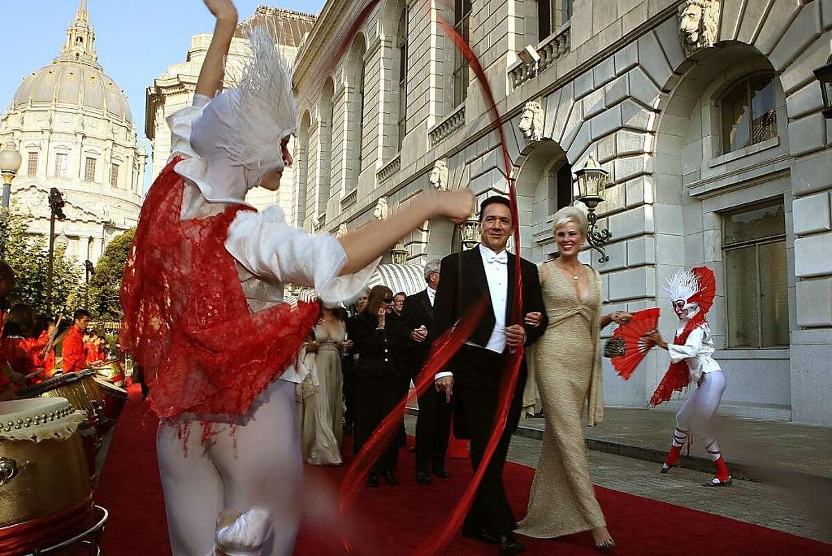 John Manoyan and Susan King Manoyan at the San Francisco Opera opening night gala in San Francisco, Calif., on Friday, September 9, 2011.
