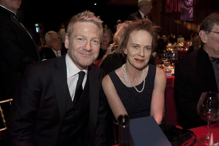 All photos by Tommy Lau.  TL_Branagh_Davis.jpg Kenneth Branagh, recipient of the Founder's Directing Award, and Judy Davis, recipient of the Peter J. Owens Award at Film Society Awards Night at the 55th San Francisco International Film Festival, April 26, 2012. Photo: Tommy Lau.