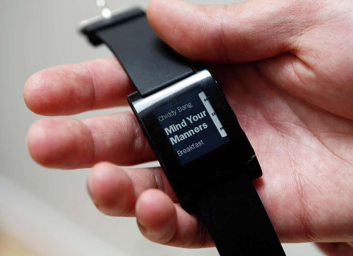 The original Pebble smart watch is the result of a successful Kickstarter campaign, so it tried again.