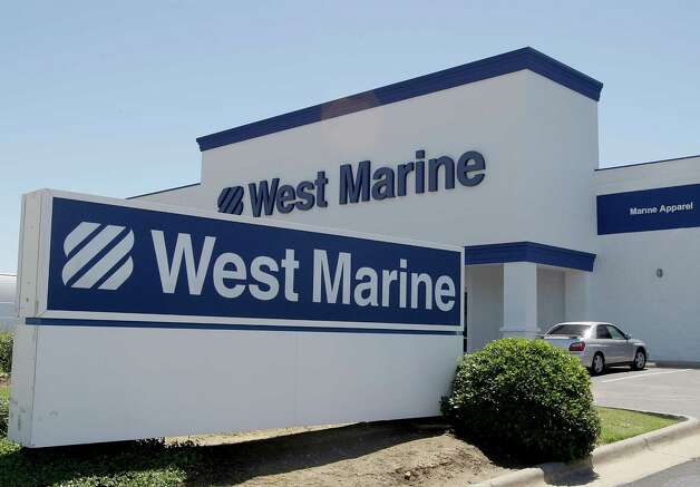 4/18/2012 : The outside of the West Marine store in Kemah, Texas.