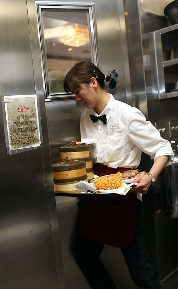 A dim sum order being brought from the kitchen into the dining hall at All Seasons Restaurant in Diamond Heights in San Francisco, Calif.,  on Thursday, April 19, 2012. Photo: Liz Hafalia, The Chronicle
