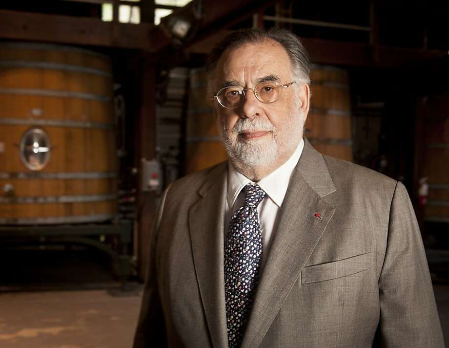 Francis Ford Coppola stands in the Rubiccon Room at Inglenook on Wednesday, April 11, 2012 in Rutherford, Calif. Photo: Russell Yip, The Chronicle