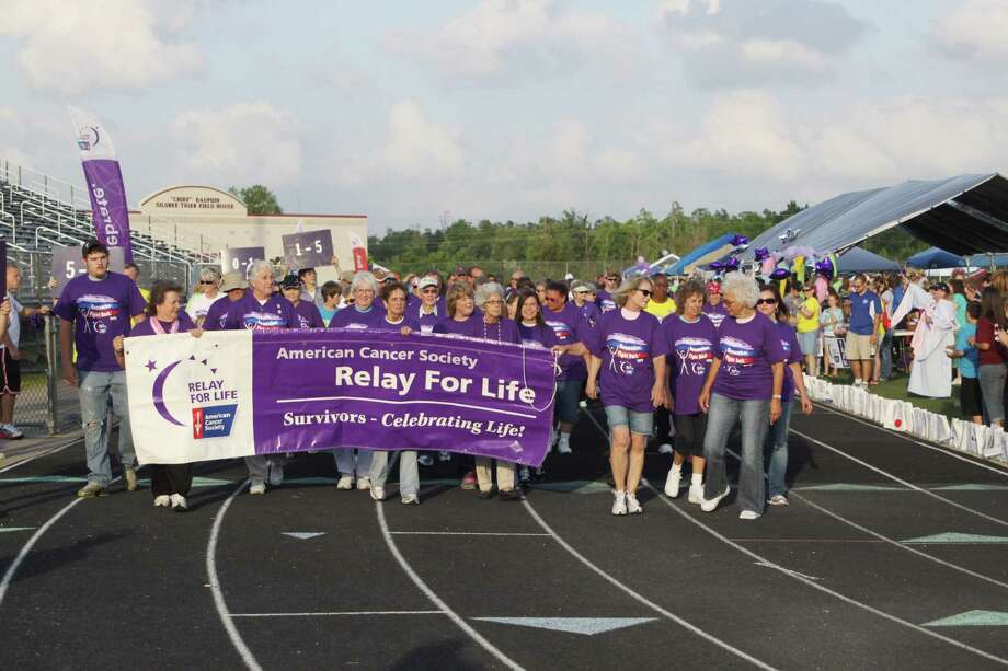 Hundreds of people participated in the Hardin/S. Jasper County Relay for Life this past weekend. According to Chairperson Nancy Neel, the event raised approximately $100,000 for the American Cancer Society. Photo: David Lisenby, HCN_Relay 2