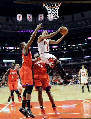 Best - 3. Derrick Rose, Memphis: When healthy, his MVP skills are the same he exhibited while almost leading Memphis to the 2008 national championship. Photo: AP