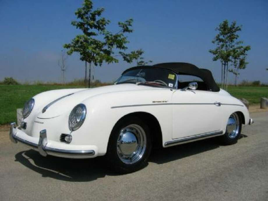 1961 Porsche Speedster  (The cars on this list were taken from public records. All photos are of the car's model but not the actual car.) Photo: Contributed Photos