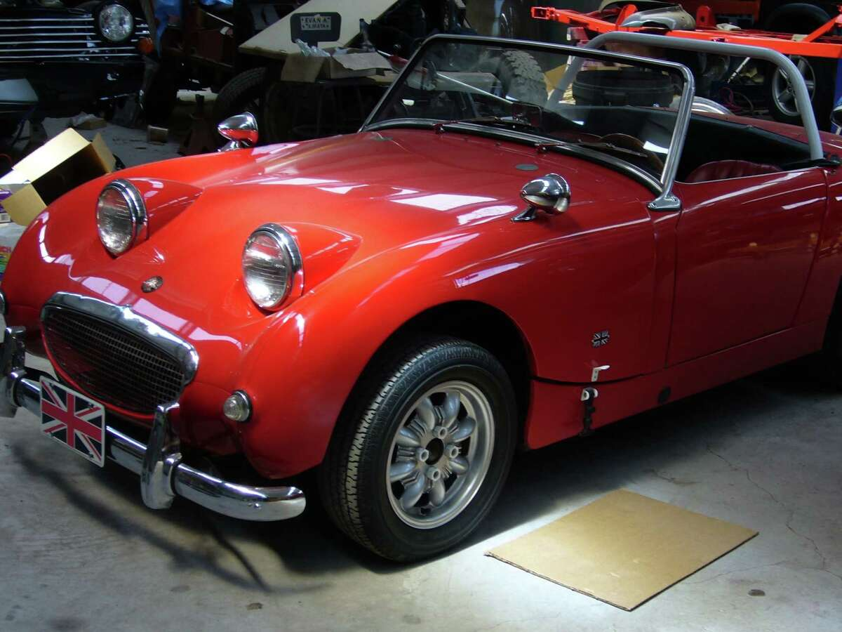 1960 Austin Healey Bugeye Sprite ( Flickr/colby_hoke) (The cars on this list were taken from public records. All photos are of the car's model but not the actual car.)