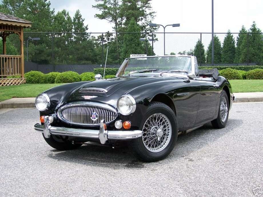 1967 Austin Healey 3000MKI   (The cars on this list were taken from public records. All photos are of the car's model but not the actual car.) Photo: Contributed Photos