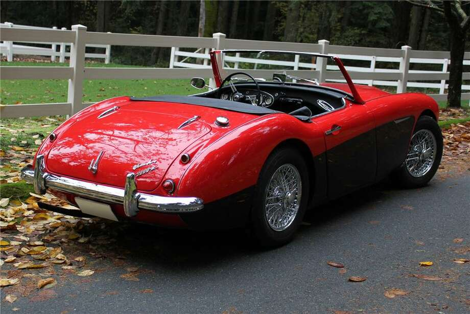 1961 Austin Healey 3000MKI   (The cars on this list were taken from public records. All photos are of the car's model but not the actual car.) Photo: Contributed Photos